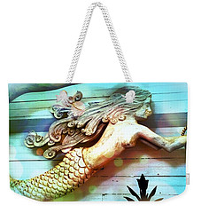 Mermaids Journey Weekender Tote Bag