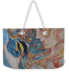 Mermaids Kiss Weekender Tote Bag