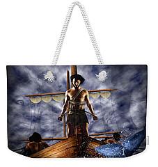 Mermaids Singing Weekender Tote Bag