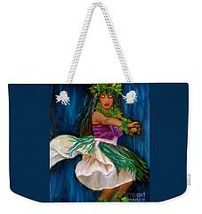 Merrie Monarch Hula Weekender Tote Bag