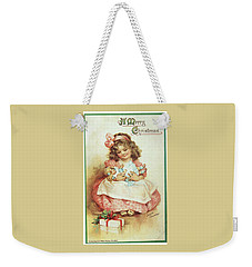 Merry Christmas For My Dolly Weekender Tote Bag