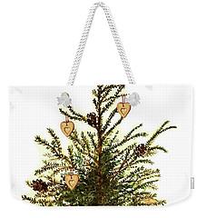 Weekender Tote Bag featuring the painting Merry Christmas by Heidi Kriel