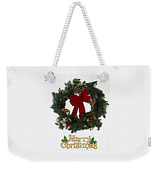Merry Christmas Weekender Tote Bag by Kenneth Cole