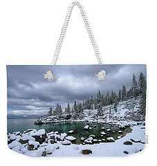 Merry Christmas Weekender Tote Bag by Sean Sarsfield