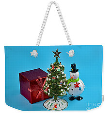 Merry Christmas To You Weekender Tote Bag