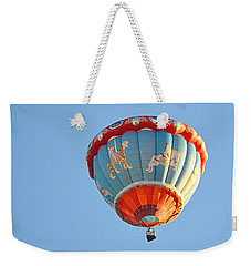 Weekender Tote Bag featuring the photograph Merry Go Round by AJ Schibig