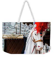 Merry-go-round Weekender Tote Bag by Ana Mireles