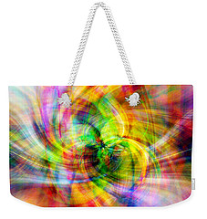 Weekender Tote Bag featuring the photograph Merry Go Round by Cathy Donohoue