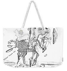 Merry-go-round Horse Weekender Tote Bag