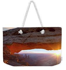 Mesa Arch, Canyonlands, Utah Weekender Tote Bag