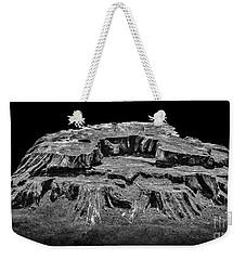 Mesa Butte Stump Weekender Tote Bag by Walt Foegelle
