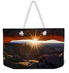 Mesa Glow Weekender Tote Bag by Chad Dutson
