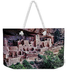 Mesa Verde Weekender Tote Bag by Heather Applegate