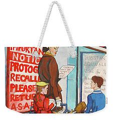 Mesh R Us Weekender Tote Bag
