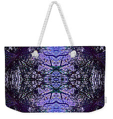 Mesmerized By Blue Weekender Tote Bag