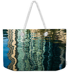 Mesmerizing Abstract Reflections Two Weekender Tote Bag