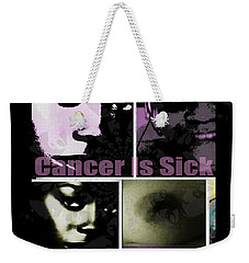 Message For All Weekender Tote Bag by Fania Simon