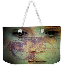 Message Weekender Tote Bag