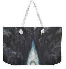 Weekender Tote Bag featuring the painting Messenger by Cheryl Pettigrew