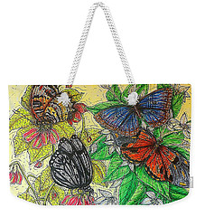 Messengers Of Beauty Weekender Tote Bag