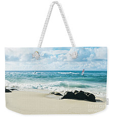 Weekender Tote Bag featuring the photograph Messengers Of Light by Sharon Mau