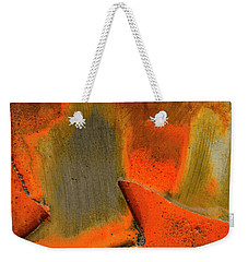 Metal Abstract Three Weekender Tote Bag