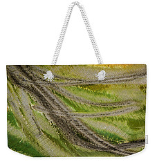 Metal Abstract Two Weekender Tote Bag