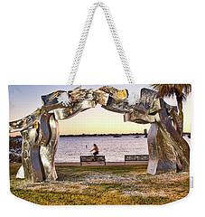 Metal Arch Weekender Tote Bag