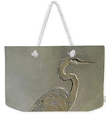 Metal Egret 3 Weekender Tote Bag