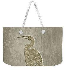 Metal Egret 4 Weekender Tote Bag