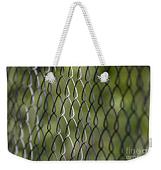 Metal Fence Weekender Tote Bag