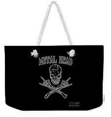 Metal Head Weekender Tote Bag
