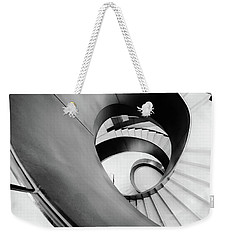 Metal Spiral Staircase London Weekender Tote Bag