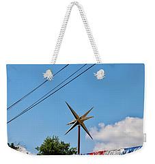 Metal Star In The Sky Weekender Tote Bag