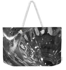 Metallic Glass Weekender Tote Bag by Samantha Thome