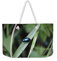 Metallic Insect Weekender Tote Bag