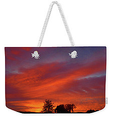 Metallic Sunrise Weekender Tote Bag