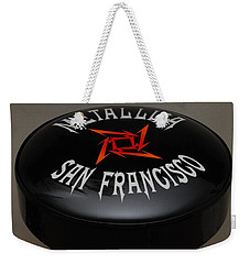 Metallica Bar Stool Weekender Tote Bag
