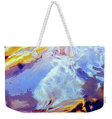 Weekender Tote Bag featuring the painting Metamorphosis by Dominic Piperata