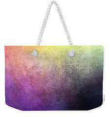 Weekender Tote Bag featuring the pastel Metaphysics Ll by Carrie Maurer