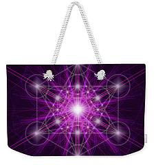 Metatron's Cube Original Weekender Tote Bag
