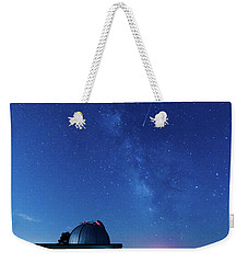 Meteor And Observatory Weekender Tote Bag