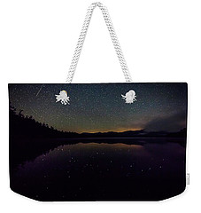Meteor Over Chocorua Lake Weekender Tote Bag