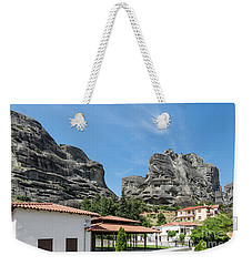 Meteora In Greece Weekender Tote Bag