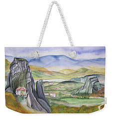 Meteora Weekender Tote Bag by Teresa Beyer