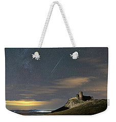 Meteors Above The Fortress Weekender Tote Bag