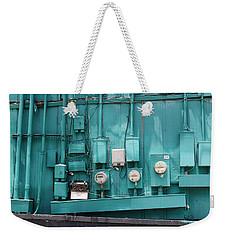 Meter Reader Weekender Tote Bag
