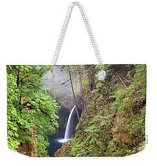 Metlako Falls In Columbia River Gorge Weekender Tote Bag
