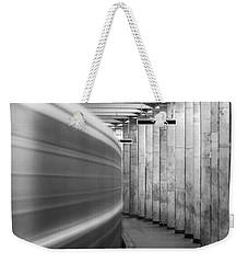 Metro #0110 Weekender Tote Bag by Andrey Godyaykin