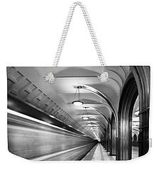 Metro #5147 Weekender Tote Bag by Andrey Godyaykin